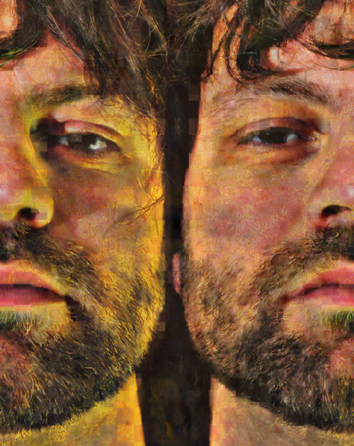 Autoportrait double