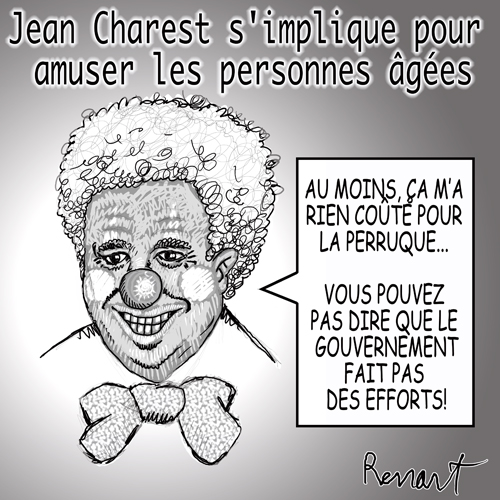 Jean Charest en clown