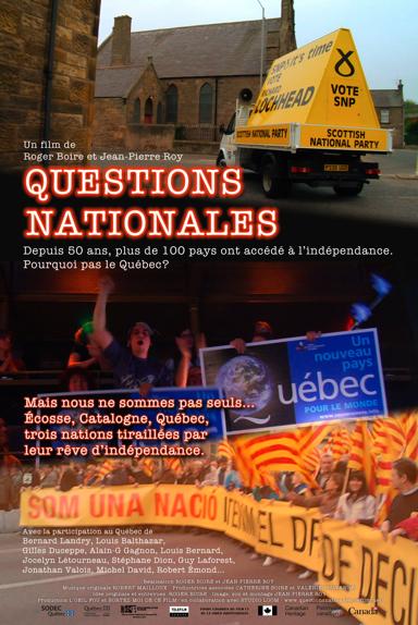 Questions nationales affiche