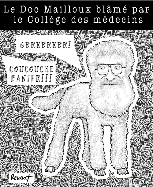 Doc Mailloux en poodle